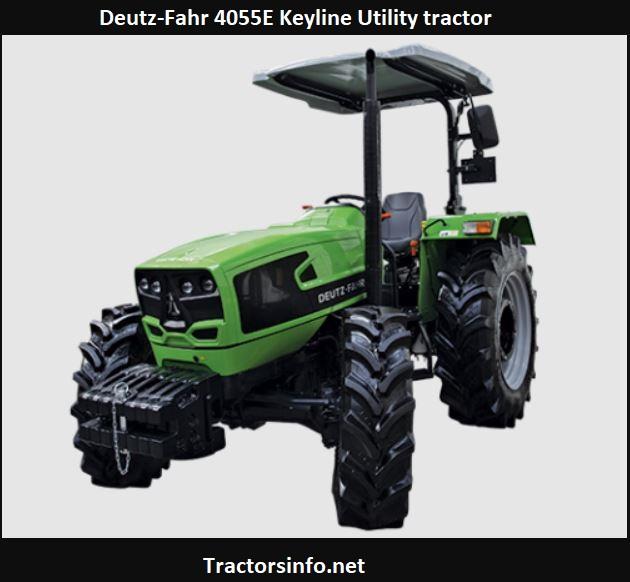 Deutz-Fahr 4055E Keyline Utility Tractor Price, Specs, Review