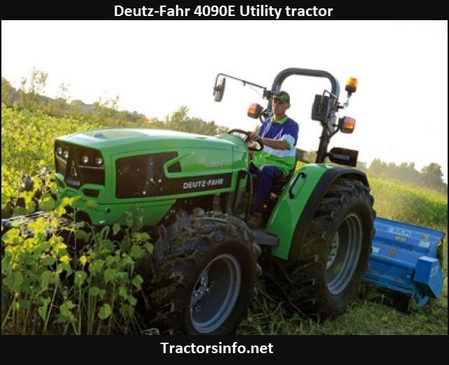 Deutz-Fahr 4090E Utility Tractor Price, Specs, Review