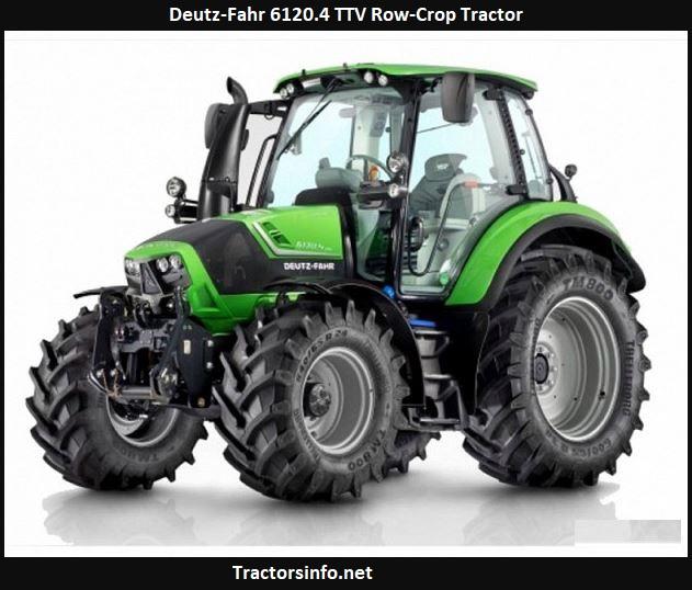 Deutz-Fahr 6120.4 TTV Row-Crop Tractor Price, Specs, Review