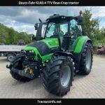 Deutz-Fahr 6140.4 TTV Tractor Price, Specs, Review