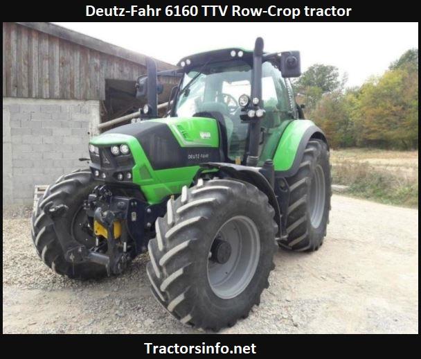 Deutz-Fahr 6160 TTV Row-Crop Tractor Price, Specs, Review