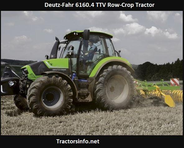 Deutz-Fahr 6160.4 TTV Row-Crop Tractor Price, Specs, Review