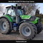 Deutz-Fahr 6190 TTV Row-Crop Tractor Price, Specs, Review