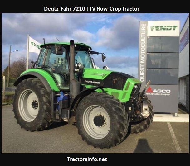 Deutz-Fahr 7210 TTV Row-Crop Tractor Price, Specs, Review