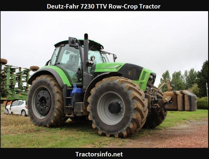 Deutz-Fahr 7230 TTV Row-Crop Tractor Price, Specs, Review