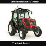 Erkunt Bereket 65E Tractor Price, Specs, Review
