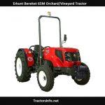 Erkunt Bereket 65M Orchard-Vineyard Tractor Price, Specs, Review