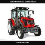 Erkunt Nimet 70 Utility Tractor Price, Specs, Review
