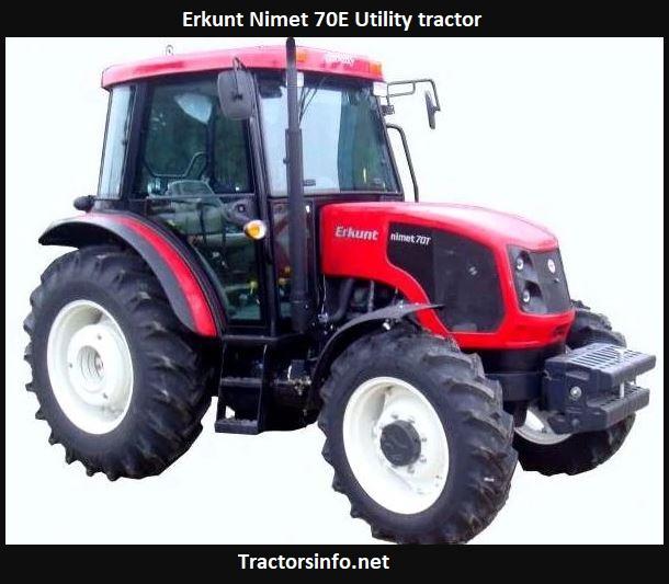 Erkunt Nimet 70E Utility tractor Price, Specs, Review