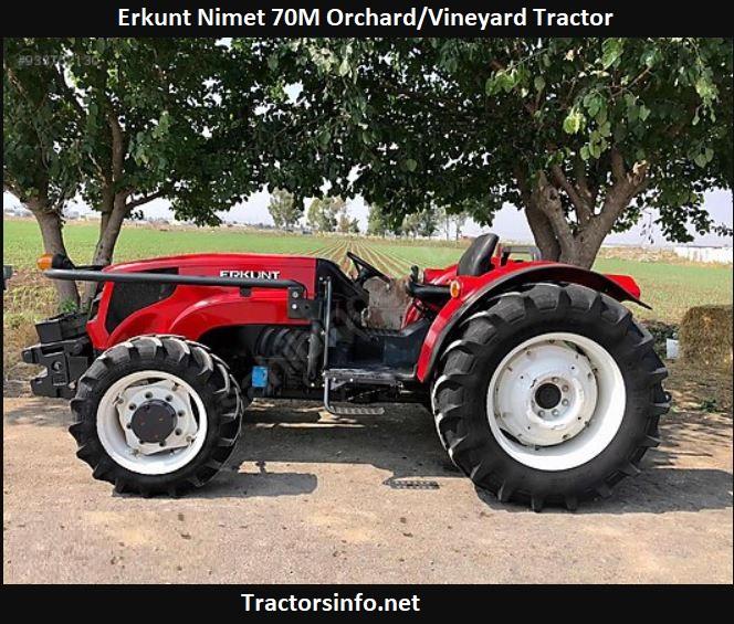 Erkunt Nimet 70M Orchard-Vineyard Tractor Price, Specs, Review