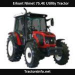 Erkunt Nimet 75.4E Utility Tractor Price, Specs, Review