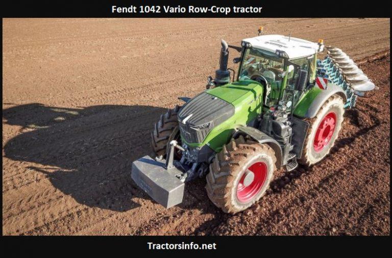 Fendt 1042 Vario Row-Crop Tractor Price, Specs, Review