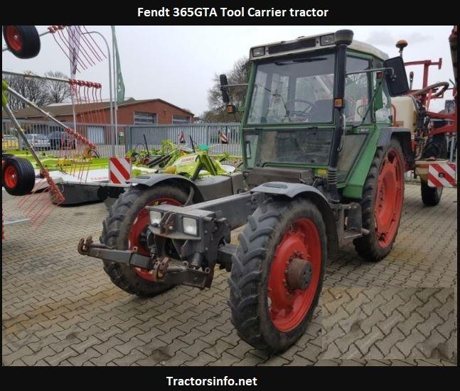 Fendt 365GTA Price, Specs, Review, Attachments