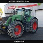 Fendt 922 Vario Row-Crop Tractor Price, Specs, Review