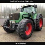 Fendt 924 Vario Row-Crop Tractor Price, Specs, Review