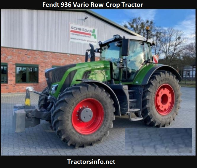Fendt 936 Vario Row-Crop Tractor Price, Specs, Review