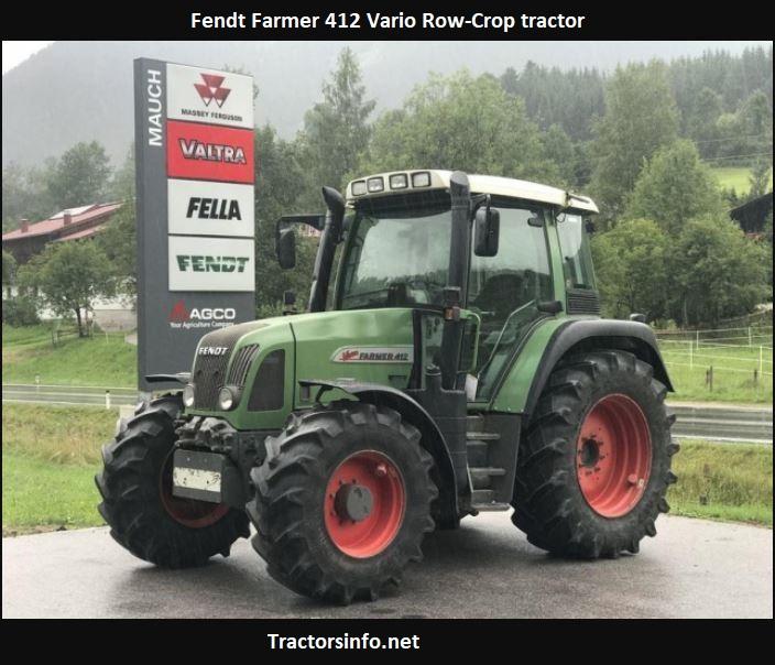 Fendt Farmer 412 Vario Tractor Price, Specs, Review