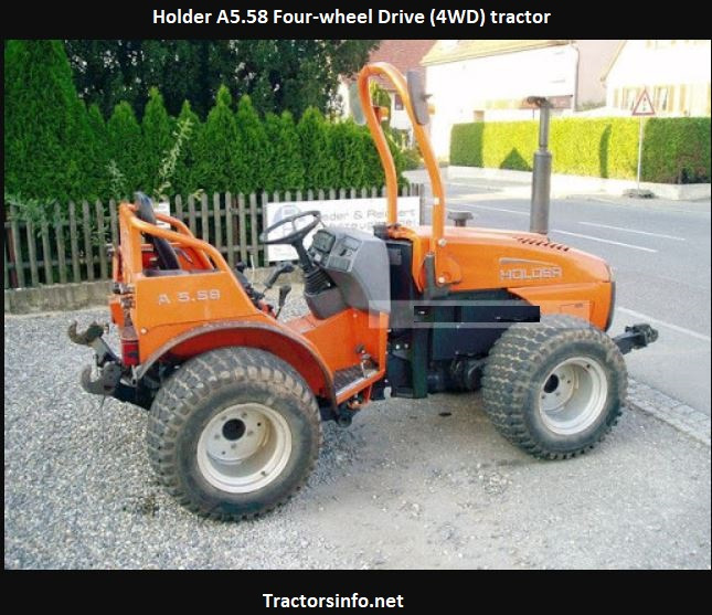 Holder A5.58 Tractor Price, Specs, Review