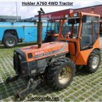Holder A760 4WD Tractor Price, Specs, Review