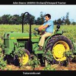 John Deere 1630VU Orchard- Vineyard Tractor Price, Specs, Review