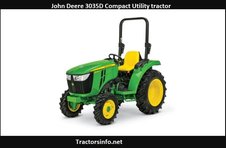John Deere 3035D Price, Specs, Review, Attachments