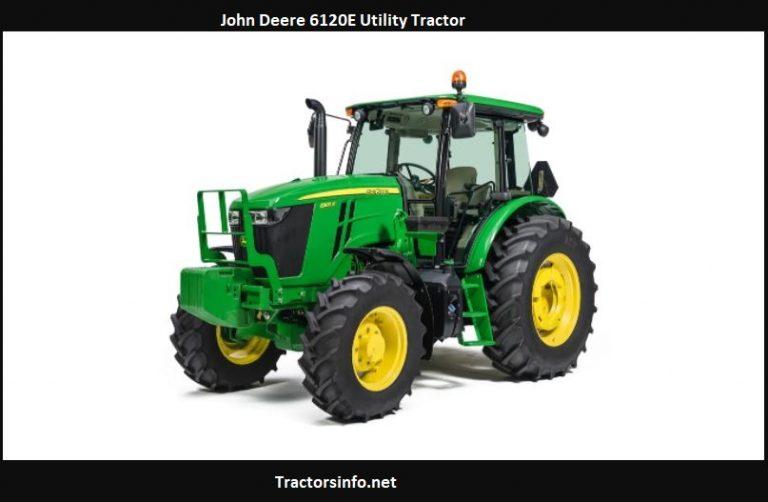 John Deere 6120E Utility Tractor Price, Specs, Review