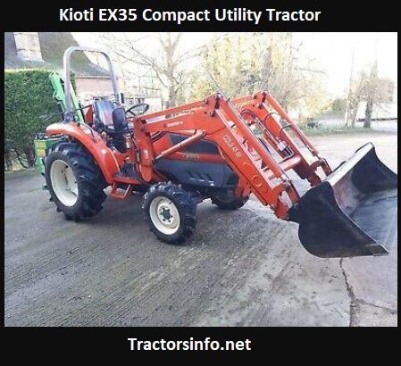 Kioti EX35 Compact Utility Tractor Price, Specs, Review