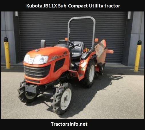Kubota JB11X Tractor Price, Specs, Review