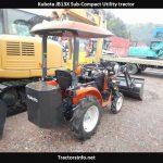 Kubota JB13X Mini Tractor Price, Specs, Review