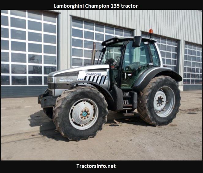 Lamborghini Champion 135 Tractor Price, Specs, Review