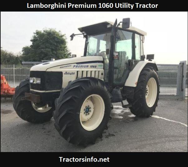 Lamborghini Premium 1060 Utility Tractor Price, Specs, Review