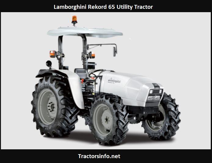 Lamborghini Rekord 65 Utility Tractor Price, Specs, Review