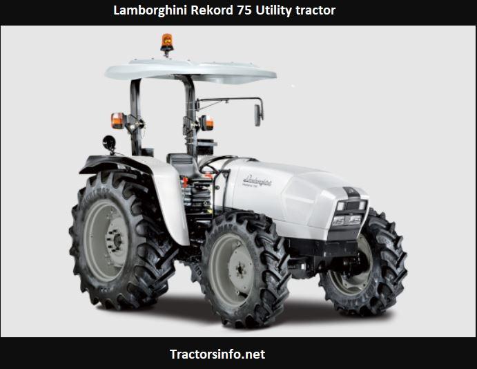 Lamborghini Rekord 75 Utility Tractor Price, Specs, Review