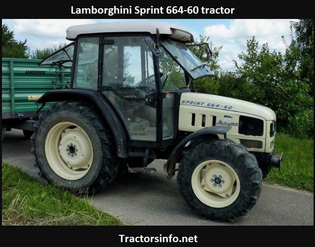 Lamborghini Sprint 664-60 Tractor Price, Specs, Review