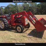 Mahindra 4505 Utility Tractor Price, Specs, Review