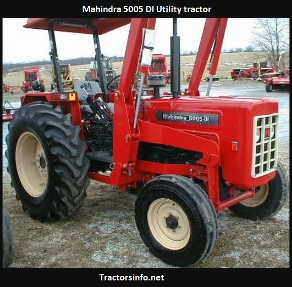 Mahindra 5005 DI Utility Tractor Price, Specs, Review