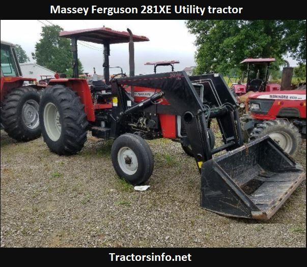 Massey Ferguson 281XE Price, Specs, Review, Attachments