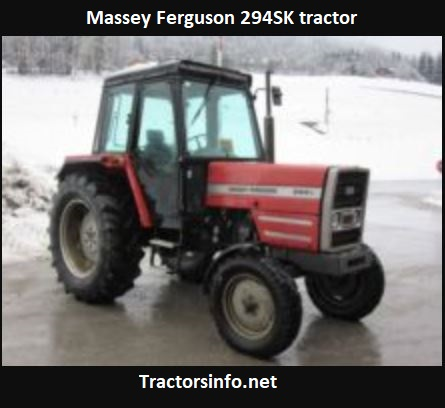 Massey Ferguson 294SK Tractor Price, Specs, Review3