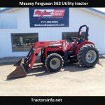 Massey Ferguson 563 Tractor Price, Specs, Review