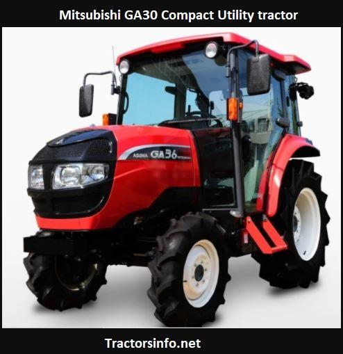 Mitsubishi GA30 Tractor Price, Specs, Review