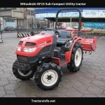 Mitsubishi GF15 Specs, Price, HP, Review