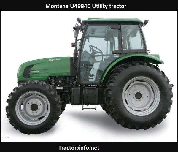 Montana U4984C Tractor Specs, Price, HP, Review