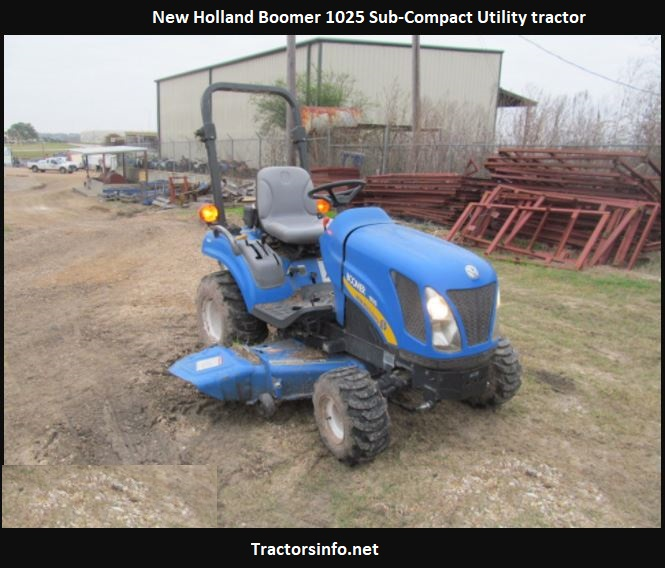 New Holland Boomer 1025 Price, Specs, Review, Attachments