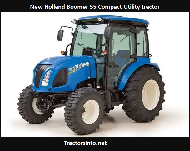 New Holland Boomer 55 Price, Specs, Review, Attachments