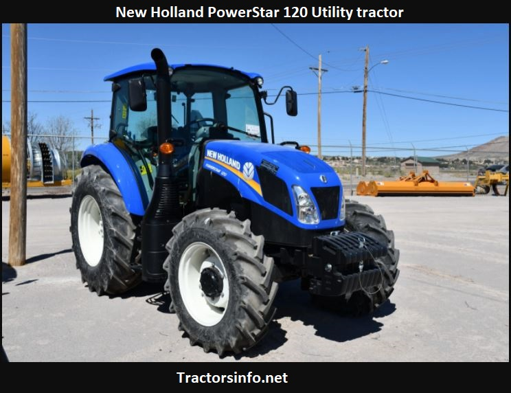 New Holland PowerStar 120 Specs, Price, Review, Attachments