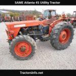 SAME Atlanta 45 Utility Tractor Price, Specs, Review