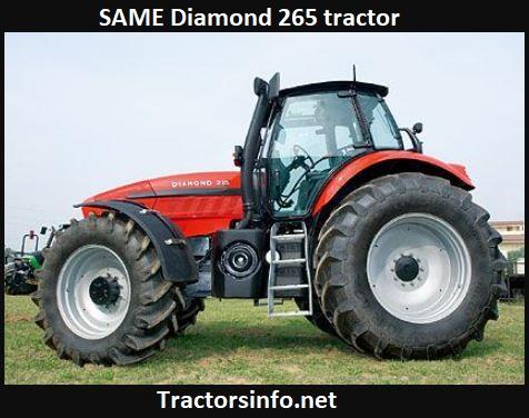 SAME Diamond 265 Tractor Price, Specs, Review