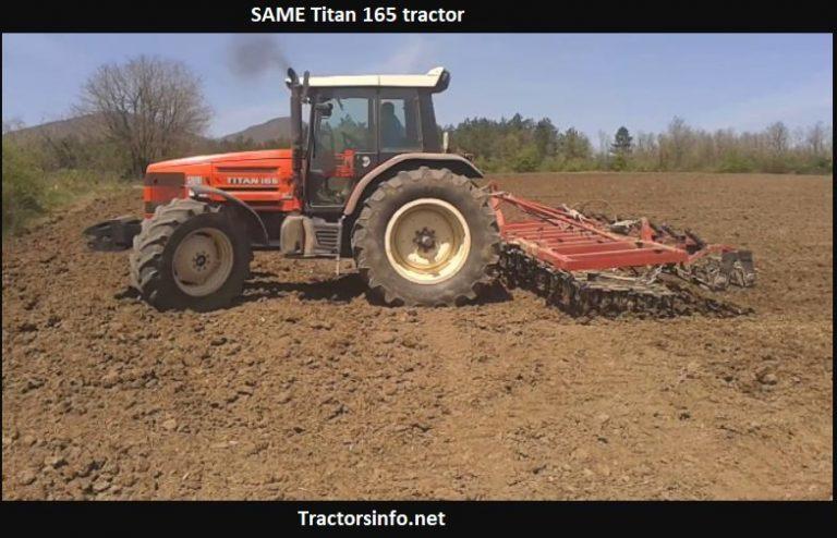 SAME Titan 165 Tractor Price, Specs, Review