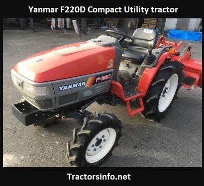Yanmar F220D Specs, Price, Review, Horsepower