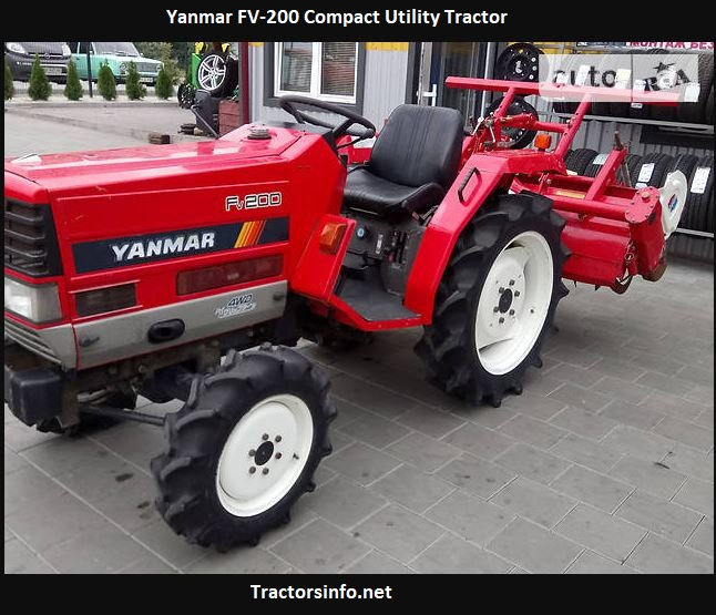 Yanmar FV-200 Compact Utility Tractor Price, Specs, Review